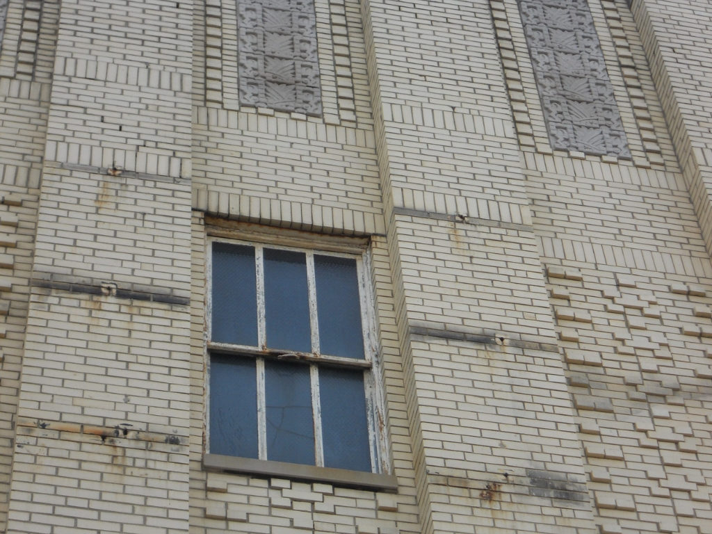 Facade Condition Before Restoration of 1819 Innovation Hub