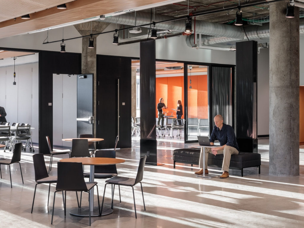 Lobby of 1819 Innovation Hub