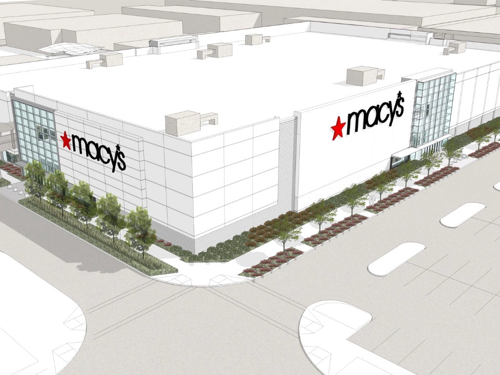 Exterior Rendering of Macys Prototype Summerlin Nevada