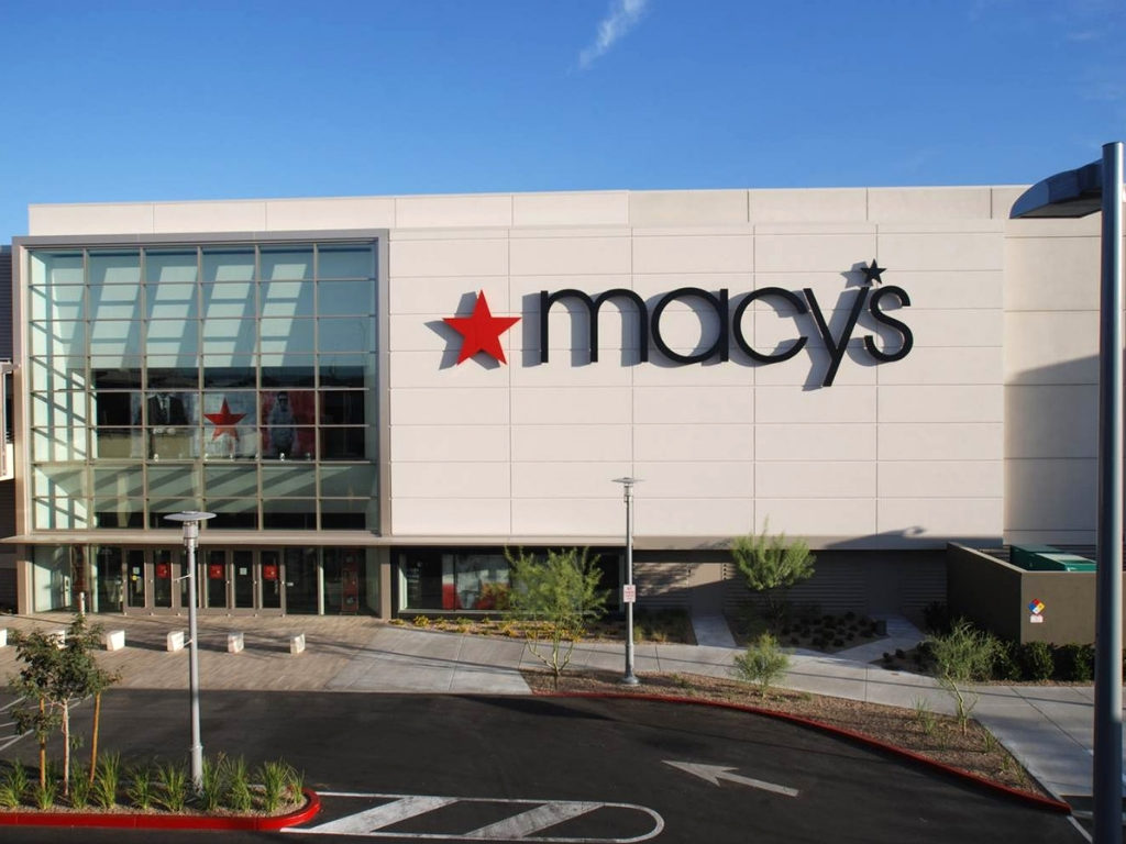 Entrance of Macys Prototype Summerlin Nevada