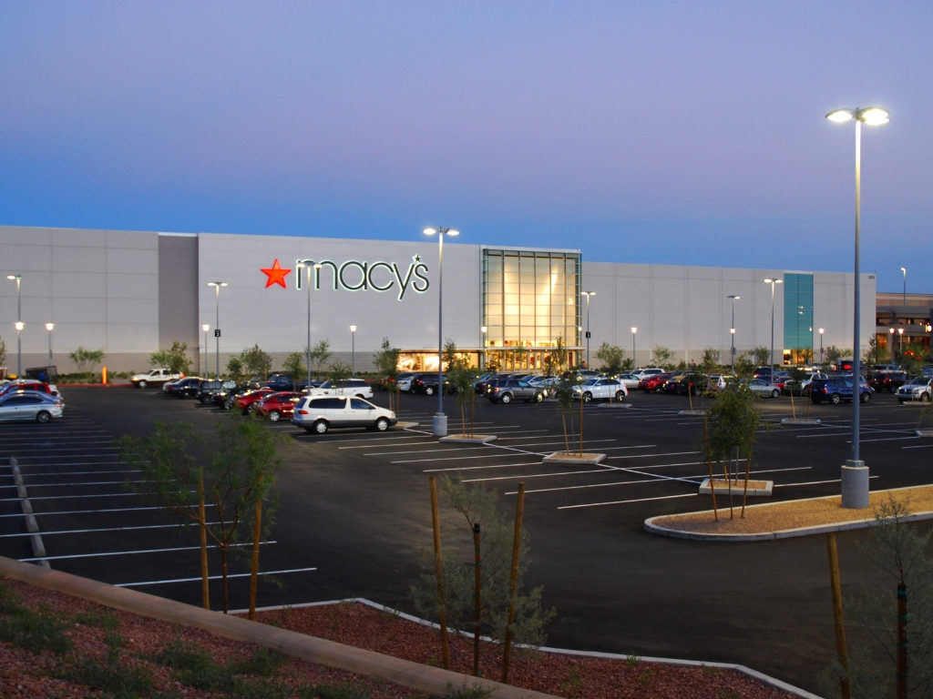 Parking Entry at Macys Prototype Summerlin Nevada