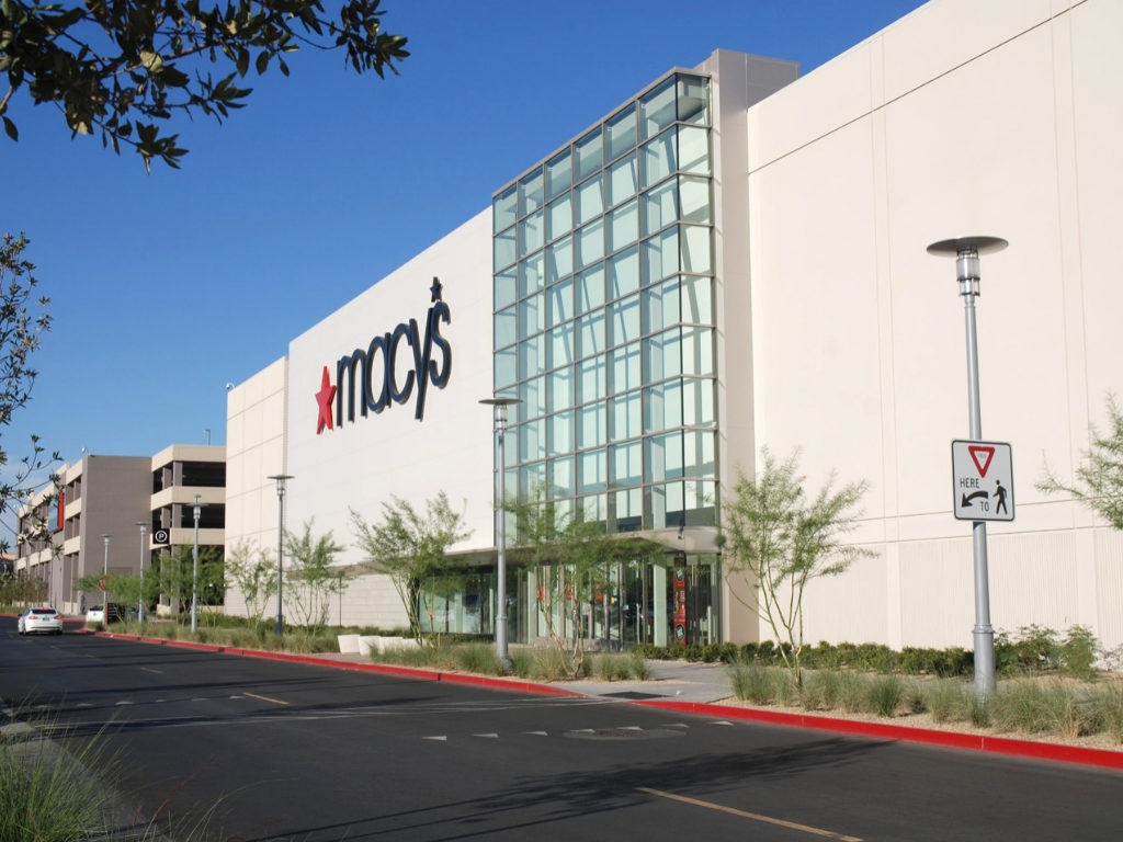 Exterior View of Macys Prototype Summerlin Nevada