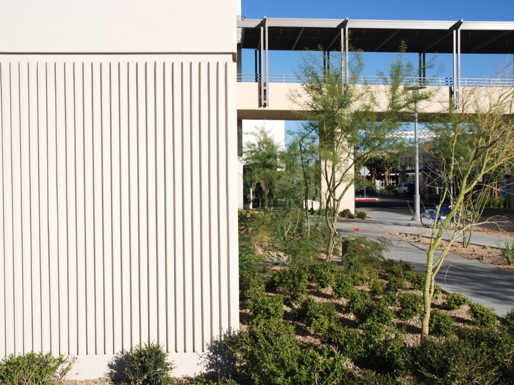Landscaping at Macys Prototype Summerlin Nevada
