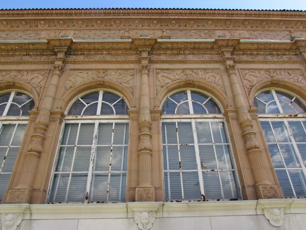 Exterior Ornaments Before Restoration of Madcap Education Center