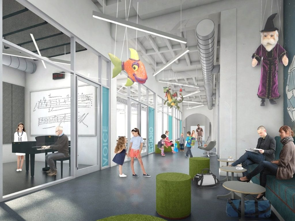 Rendering of Studios at Madcap Education Center