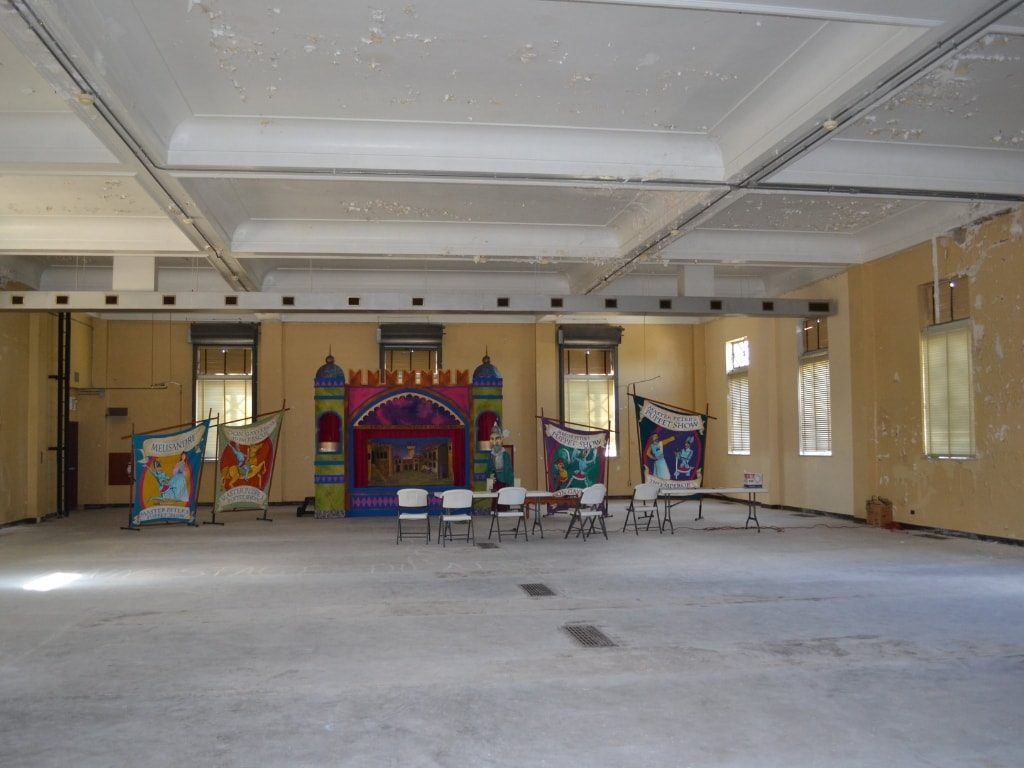 Interior Before Renovation of Madcap Education Center