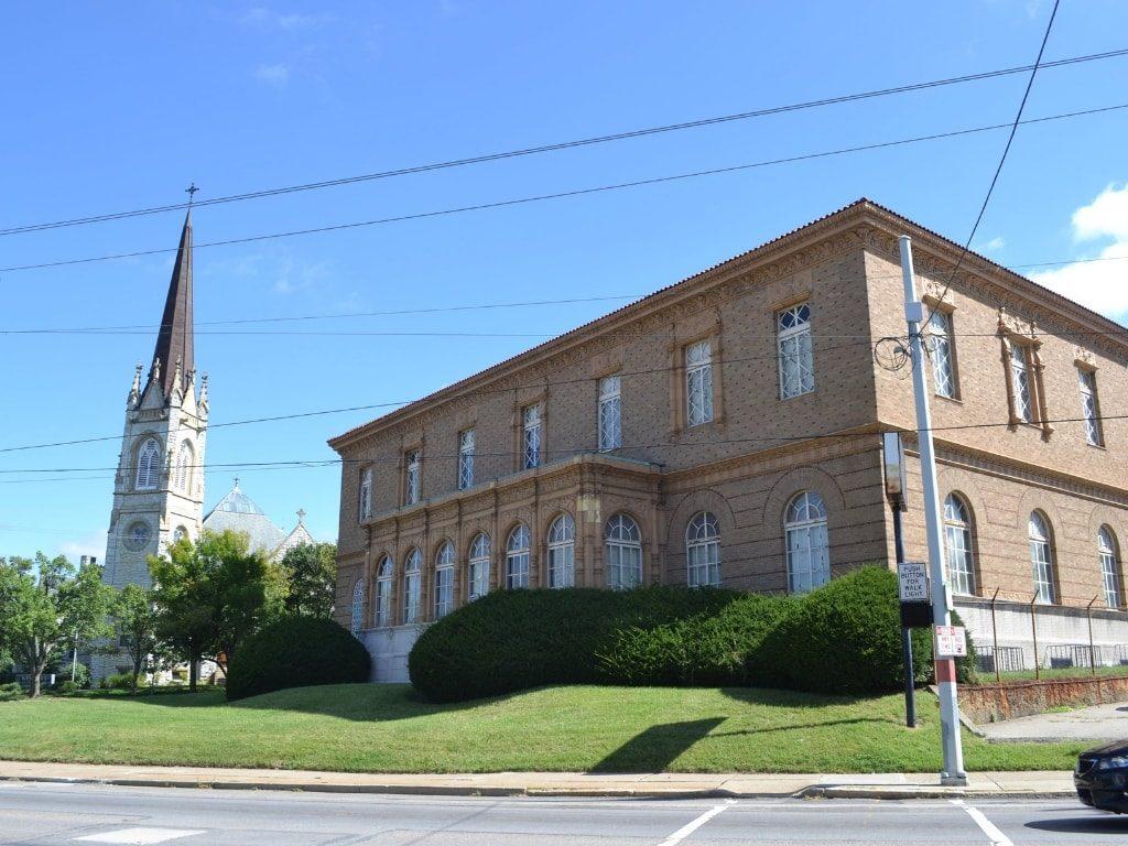 Exterior Before Restoration of Madcap Education Center