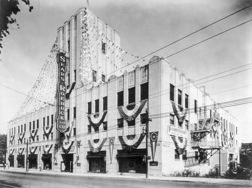 Sears Department Store now 1819 Innovation Hub